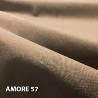 Велюр мебельная ткань для обивки amore 57 mika, темно-бежевый