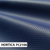 Экокожа hortica pc2106 синяя перфорация