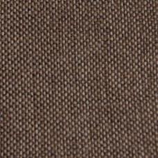 Рогожка обивочная ткань для мебели Hugo 6 Marrot, коричневая, серебряный