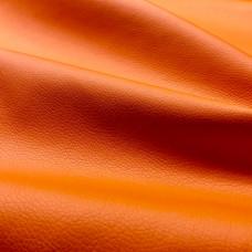 Экокожа оранжевая орегон гладкая толщина 0,8 мм