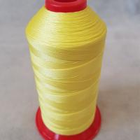 Нитки швейные polyart mt 20/3 1500(2410) желтый