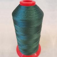 Нитки швейные polyart 20/3 1500(3933)  темно-зеленый