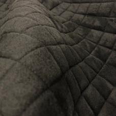 Замша стеганая черная ППУ5мм+сетка (ромб 5*5мм)