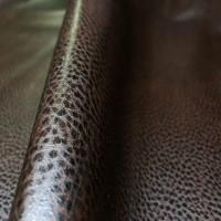 Мебельная экокожа вега, темно-коричневая