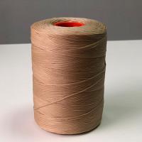 Нитки вощеные P-Plus 1.2/500 Polyester MU (9251) серо-бежевый