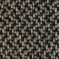 Рогожка обивочная ткань для мебели baltimore 33 grey black, серый черный