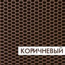 Ковролин эва, материал eva для автомобильных ковриков  соты коричневый