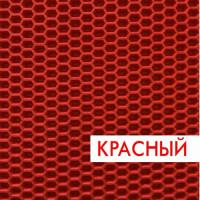 Ковролин эва, материал eva для автомобильных ковриков соты красный