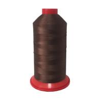 Нитки швейные polyart 40.3 арт. 1077, коричневый