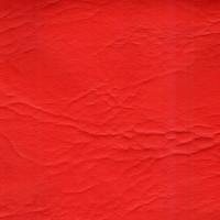 Искусственная кожа, кожзам  красная декор 338