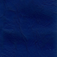 Искусственная кожа, кожзам  синяя декор 87