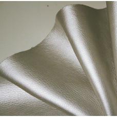 Мебельная экокожа орегон, серебристый, 0,85 мм
